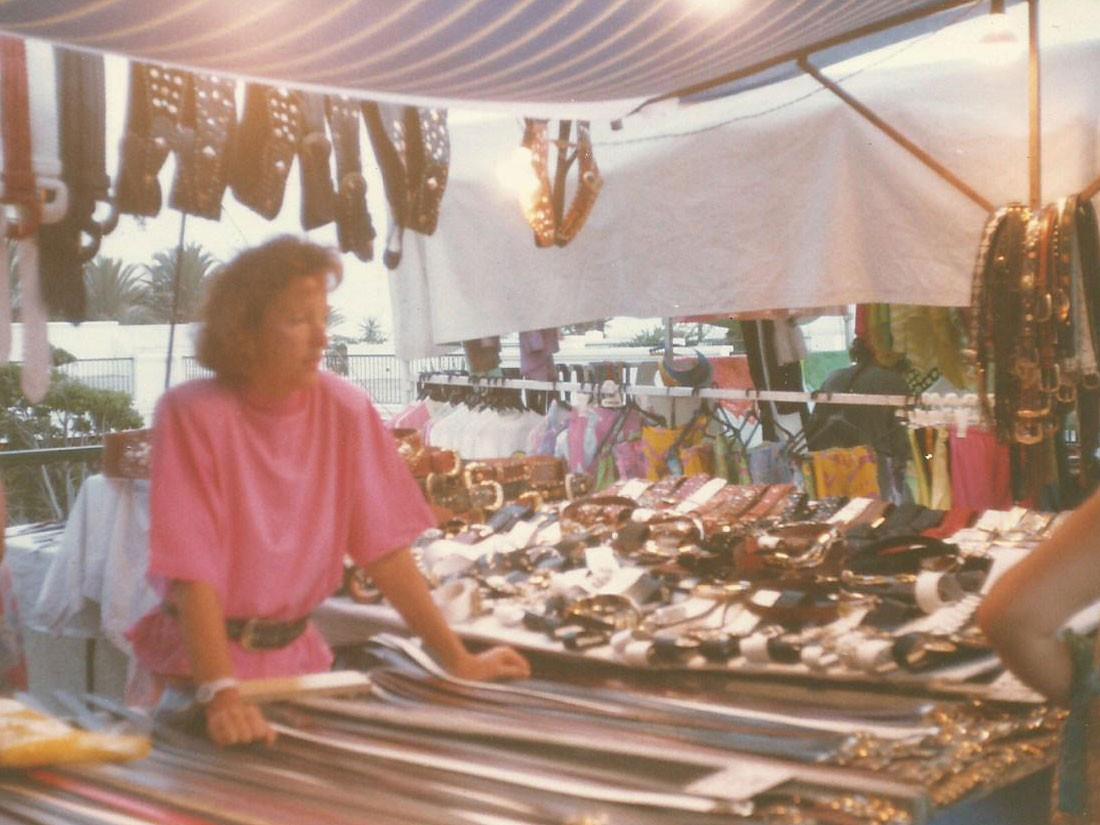 Mercado en los años 80